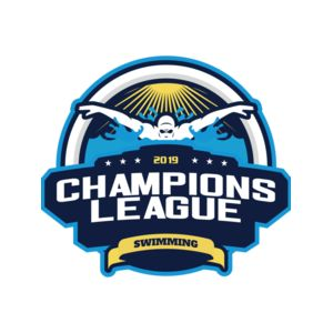 Champions League Swimming logo template Thumbnail